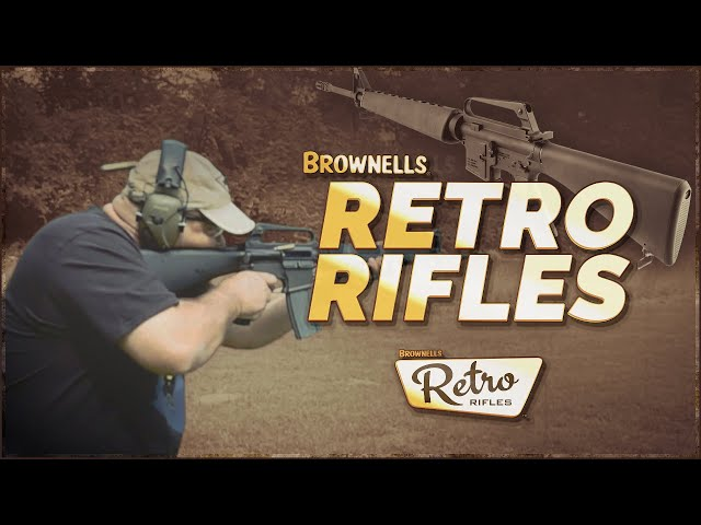 Old Is New Again: Brownell's Retro ARs