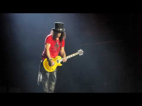 Slash – Guitar solo / Godfather Theme (Lisbon, Portugal 02/06/2017)