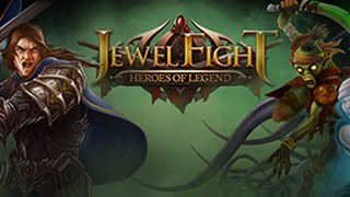 Jewel Fight: Heroes of Legend -  Увлекательная игра на Android ( Review)