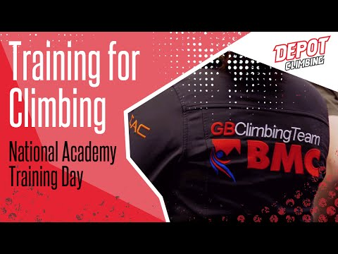 Depot Training For Climbing: National Academy Training Day