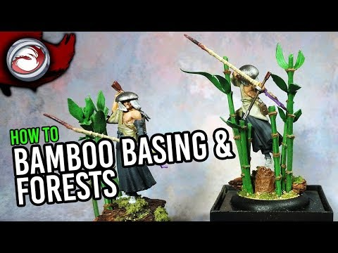 How to Make Bamboo and Bamboo Forest Bases