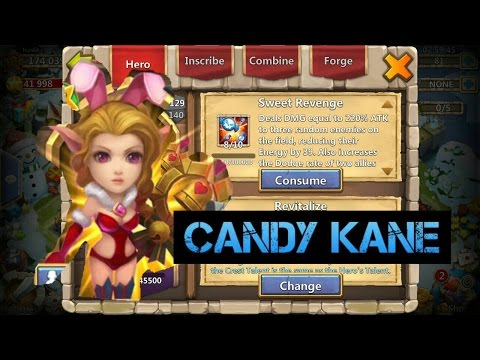 CastleClash: Rolling For Candy Kane