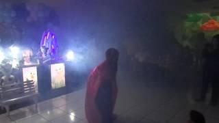PERSONAGEM VIVO ANNA - FESTA DA YASMIN 26 07 15