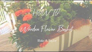 Transforming a Flower Basket Using Chalk Paint