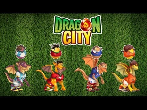 Amazing Dragon City   All Soccer Dragons   Part 2/2   YouTube