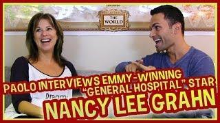 "Emmy-Winning ""General Hospital"" Star Nancy Lee Grahn!"