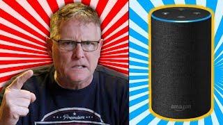 Psycho Dad Destroys Amazon Echo on Christmas