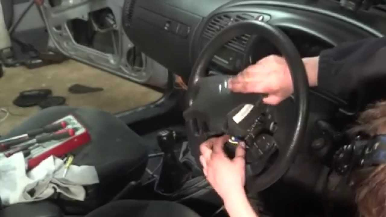 citroen xsara steering wheel controls airbag removal and replacement youtube [ 1280 x 720 Pixel ]