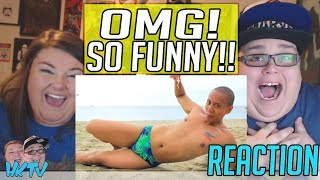 HUGS IN A SPEEDO!? I Wear Speedos | MIKEY BUSTOS DESPACITO PARODY REACTION!! 🔥