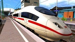 LET´S PLAY Train Simulator 2013 Folge 66 ICE 3 M mit Bordansagen nach München von Rob spielt