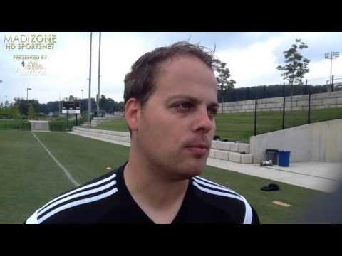 JMU Men's Soccer Preseason - Asst. Coach Sean Martin