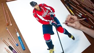 Drawing Alexander Ovechkin