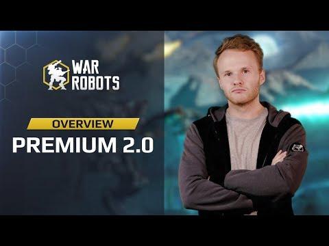 War Robots: Premium Upgrade overview | what's now in it? Premium 2.0