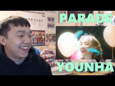 YOUNHA [윤하] - Parade MV Reaction [Her voice is ANGELIC]