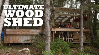 The ULTIMATE Wood Shed