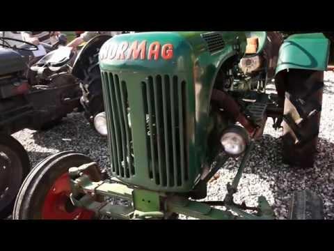 Normag Traktor 1952-54? 15 hk? 1 cyl. luftk. God Stand/ Djursland