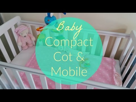 Rafferty Compact Cot George Asda | Tiny Love Baby Mobile Rattle Teether | K's Mum