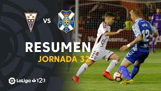 Resumen de Albacete BP vs CD Tenerife (2-2)