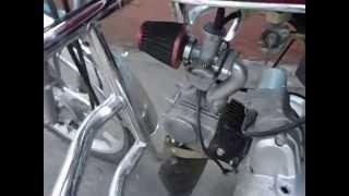 №17. Двигатель мопеда альфа, замена поршневой, обкатка.