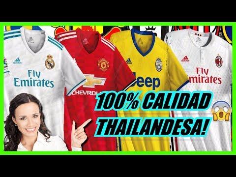 camisetas de tailandia calidad