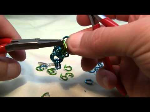 How To Byzantine Chainmaille Tutorial