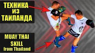 Фишки в тайском боксе, ВЫБИВ техника боя муай тай фишки в муай тай. приемы, базовая техника обучение