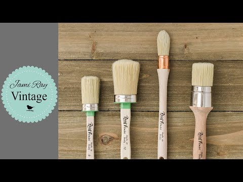 How To Clean And Condition Paint Brushes | Paint Brush Care