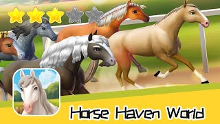 Horse Haven World Adventures Walkthrough Horse Riding & Breeding Game Recommend index three stars