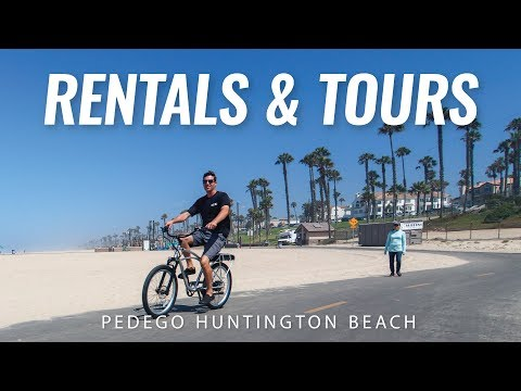 Electric Bike Rentals And Tours | Huntington Beach, California | Pedego Huntington Beach