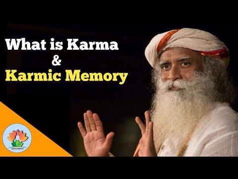 What is Karma in Hinduism | Sadguru on Karma and Karmic Memory | Spiritual Evolution
