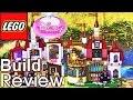 레고 디즈니 프린세스 미녀와 야수 벨의 마법궁전 41067 조립 과정 리뷰 Lego Disney Princess Belle's Enchanted Castle build review