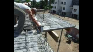 HALFEN HIT Montaż płyt filigran na budowie