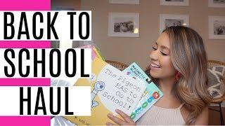 BACK TO SCHOOL HAUL 2019!