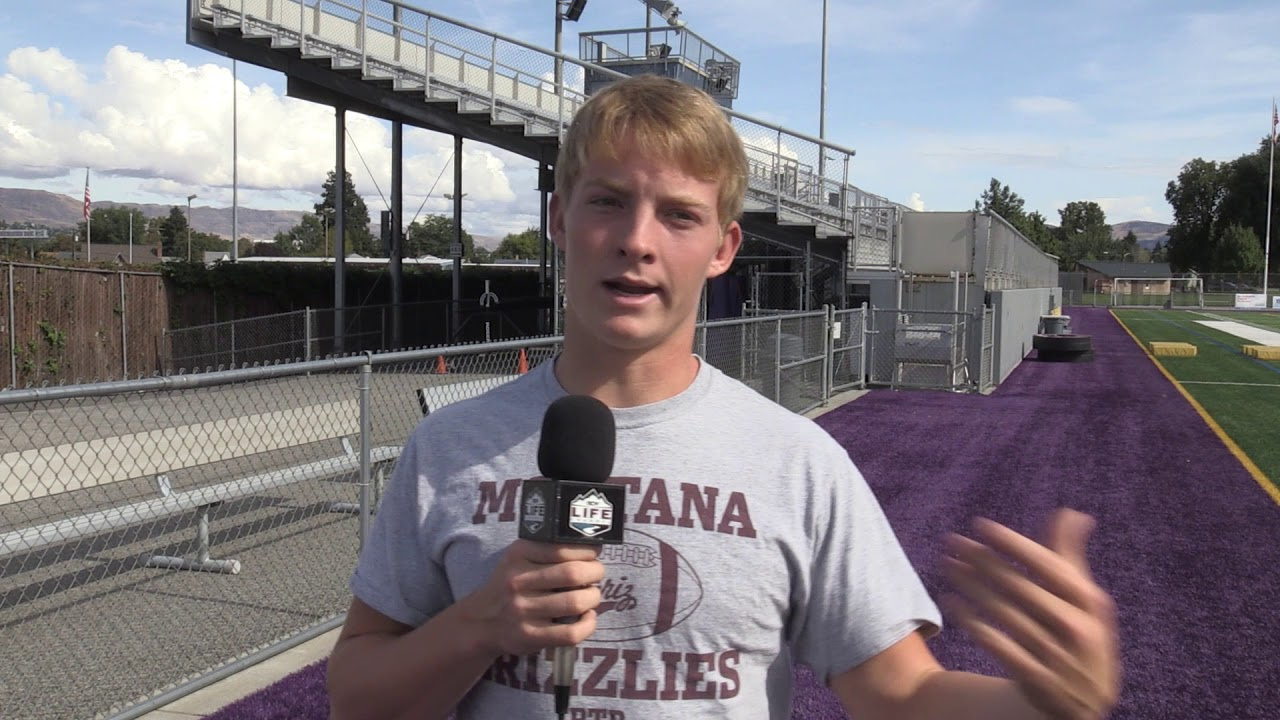 Wenatchee Quarterback Camden Sirmon on Sync 2019-09-12