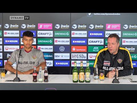 8. Spieltag | SGD - SVM | Pressekonferenz vor dem Spiel
