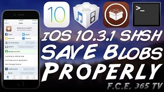 iOS 10.3.1 - How To Properly Save Your SHSH2 Blobs for Downgrades