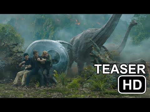 Download Youtube: JURASSIC WORLD 2 Teaser #1