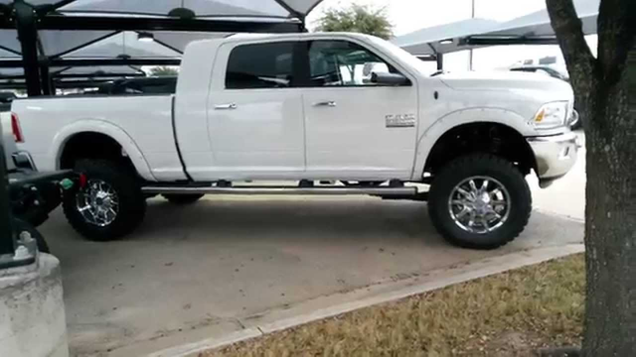 all new tricked out lifted 2015 ram laramie 4x4 mega cab truck tdy sales youtube - Dodge Truck 2015 Lifted