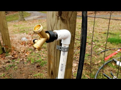 You've Never Seen A Garden Water System Like This... Cheap, Easy No Electrical Required!