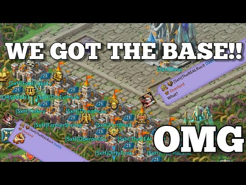 Lords-Mobile | WE HAVE THE BASE! 1ST TIME OVERLORD!! (WoW)