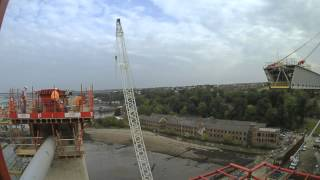 South Approach Viaduct Launch II - Autumn 2014