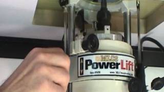 Mlcs Powerlift Demo - The Worlds First Motorized Router Lift
