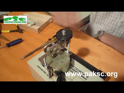 DIY Homemade Motorized CCTV Camera (Urdu)