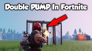 *New* The DOUBLE PUMP Glitch Is Back! (Fortnite Season 7 Glitches)
