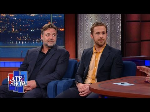 Ryan Gosling and Russell Crowe Have Gotten Very Close