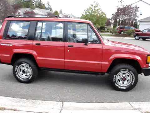 1990 Isuzu Trooper 4x4 Wheeler Offroad Finished Look Youtube