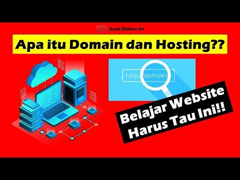 Penjelasan, Apa Itu Hosting dan Domain