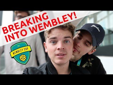 WE BROKE INTO THE WEMBLEY CUP!!