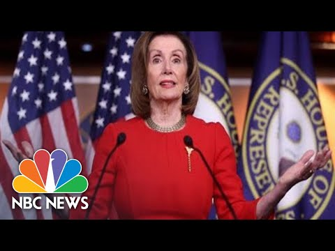 Pelosi Holds Weekly Press Conference Amid Impeachment Tensions | NBC News (Live Stream Recording)