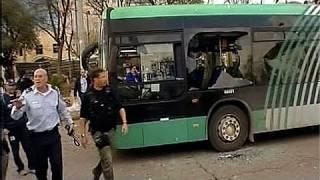 فيديو: انفجار ضخم بمحطة الحافلات المركزية في القدس